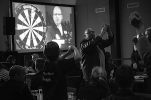Top Gun Denish Dart Masters - 1. runde